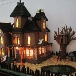 Halloween-custom-haunted-Gingerbread-house-call 1-877-803-2211
