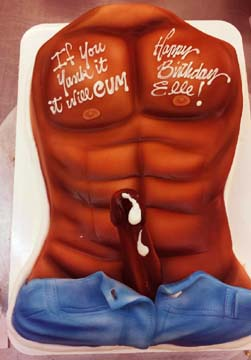 Pussy and dick birthday cakes sex