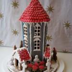 Too-Tall-circular-tower-gingerbread-house-custom-model