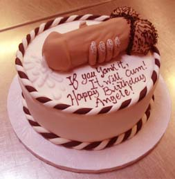 Hairy-balls-zebra-nails-and-trim-enormous-dick-lays-on-cake-and-cum